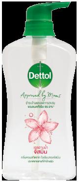 เดทตอล เจลอาบน้ำ แอนตี้แบคทีเรีย Approved by Moms สูตรจัสมิน